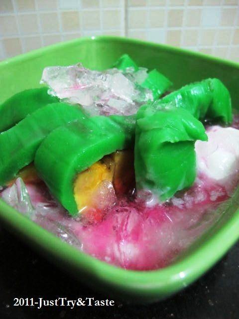 Resep Es Pisang Ijo Pisang Resep Resep Masakan Indonesia