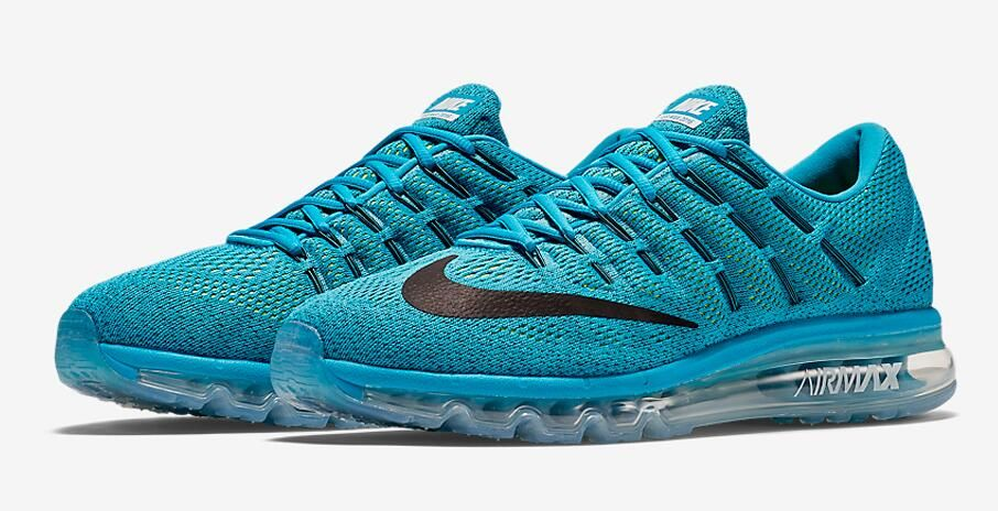 buy popular f1738 56a9a Nike Air Max 2016 Color Blue Lagoon Black-Brave Blue Style Code 806771-400  Release Date November 19, 2015 Price  190
