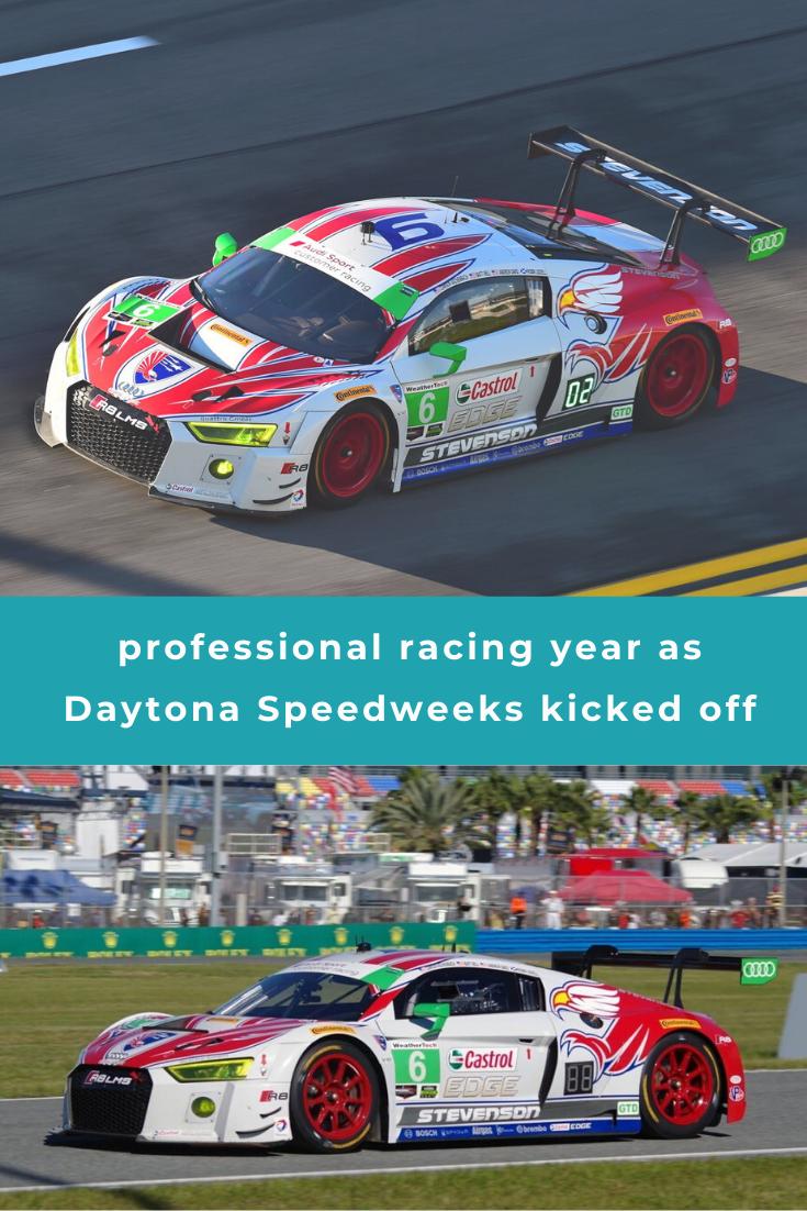 Professional Racing Year As Daytona Speedweeks Kicked Off Racing Performance Driving Fast Cars
