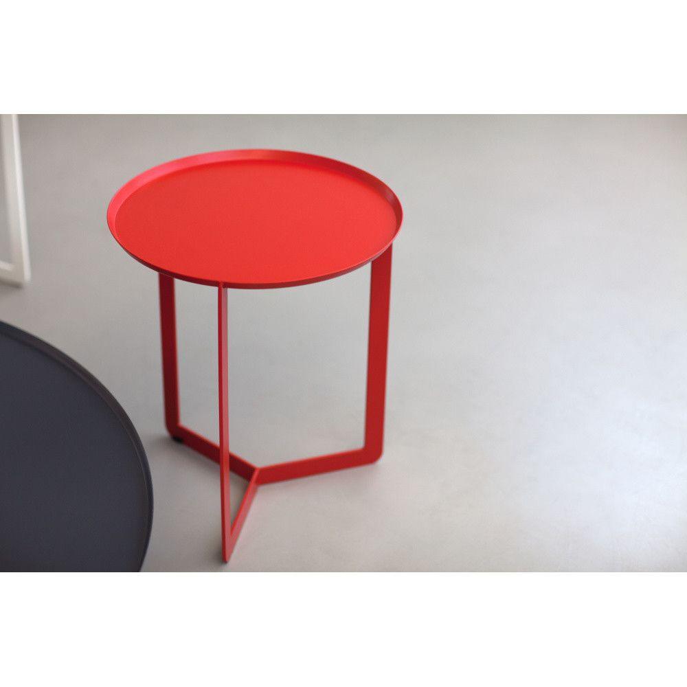 Cerveny Prirucni Stolek Meme Design Round Coffee Table Design Table Coffee Table [ 1000 x 1000 Pixel ]