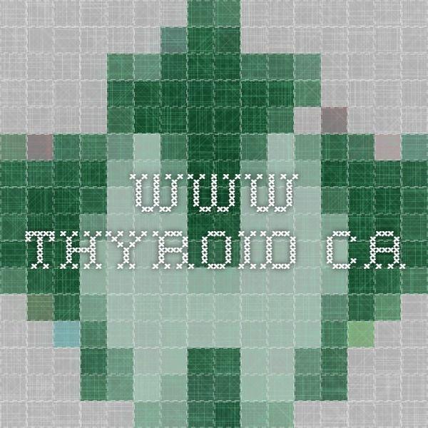 www.thyroid.ca