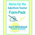 Working as a sub, and now as a teacher, I know the importance of the instructions you leave for you substitute.  (As a sub, I had to improvise an e...
