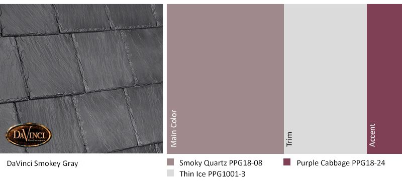 Best Davinci Smokey Gray Smoky Quartz Exterior Color Schemes 400 x 300