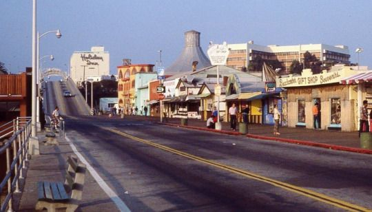 Vintage Slides Of The Santa Monica Pier In 1970 Santa Monica Pier California History Santa Monica