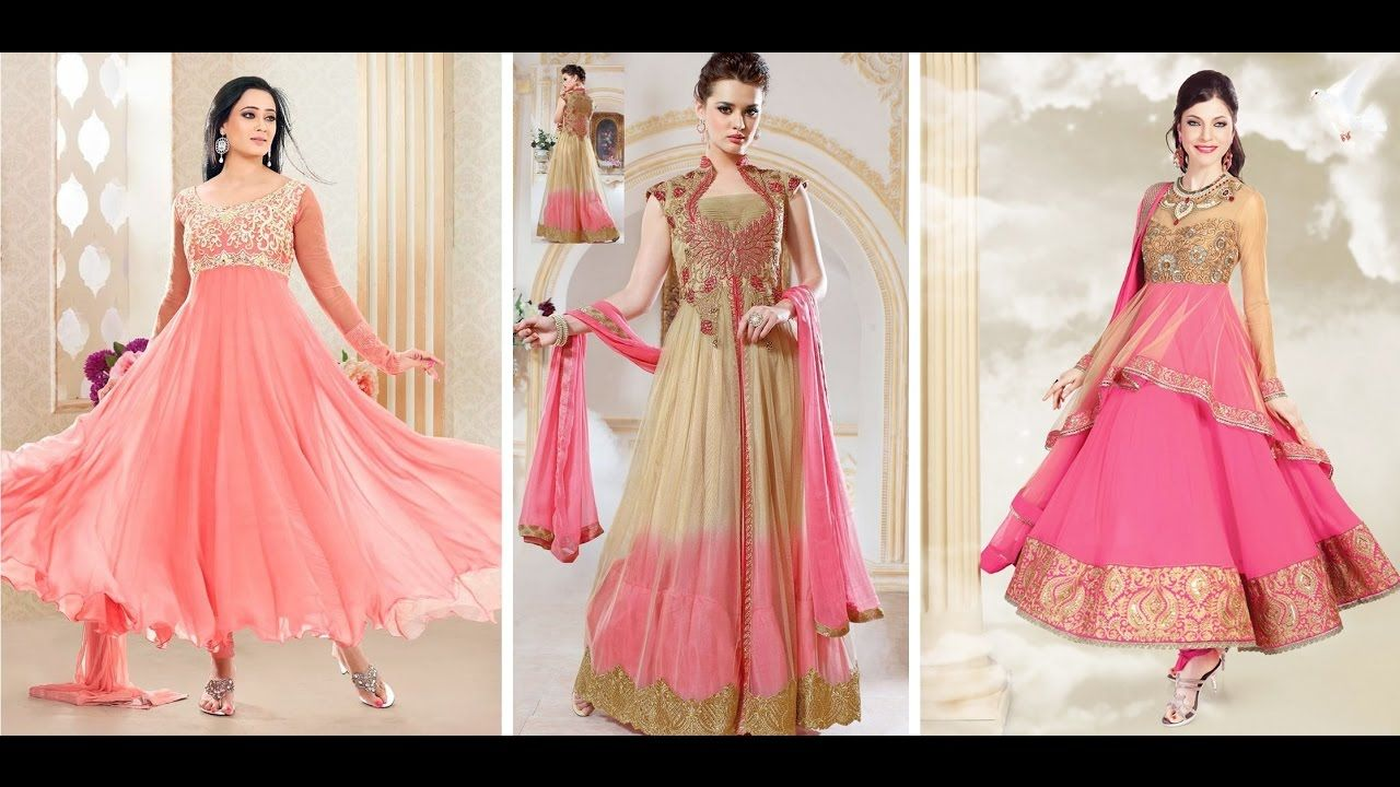 fashionable beautiful gown for girls