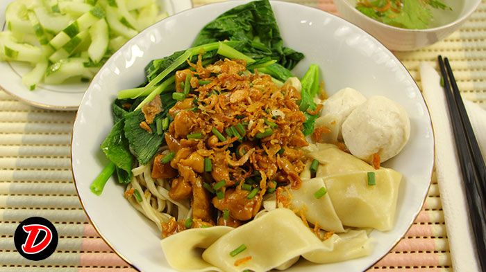 Resep Mie Pangsit Ayam Cara Membuat Mie Video Demo Masak Bahan Mie Untuk Pangsit Resep Masakan