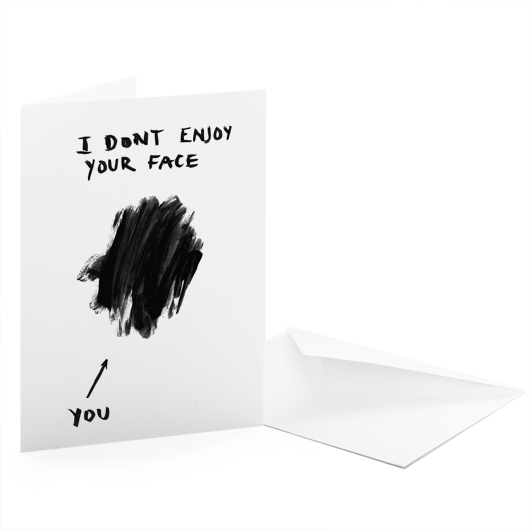 I Don't Enjoy Your Face by Jamie Mitchell