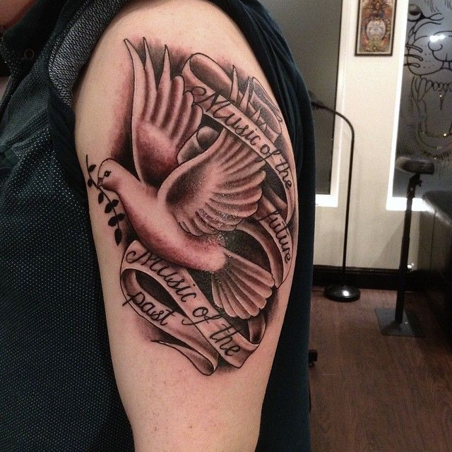 100 Charming Dove Tattoos And Meanings Awesome Dove Tattoos Dove Tattoo Design Dove Tattoo