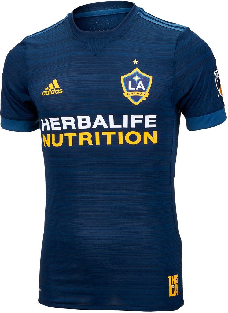 LA GALAXY SOCCER CLUB Away KIT 2018 - 19 SHIRT FOOTBALL JERSEY FUSSBALL  CAMISA TRIKOT MAILLOT 7af7d64d9