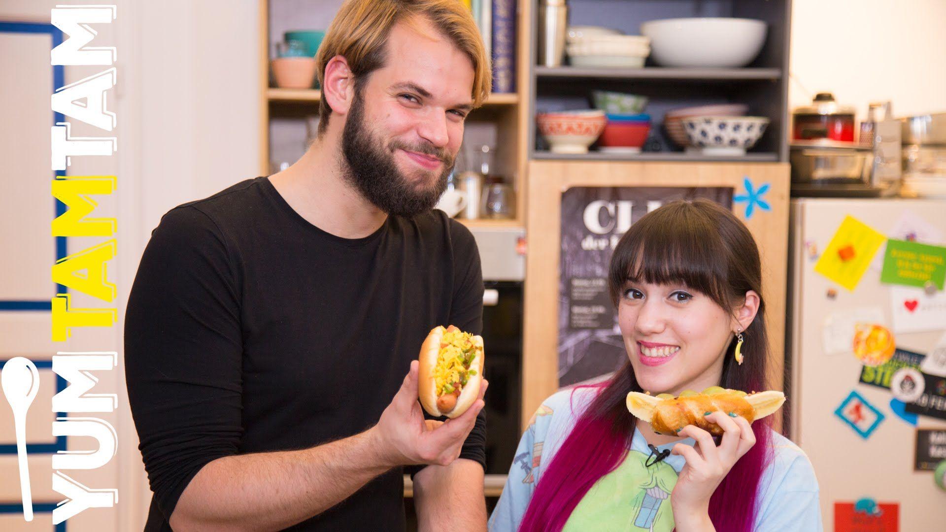 2x Hot Dog // Mexikanisch & süß // #yumtamtam (die mexikanische Variante klingt SUPERLECKER)