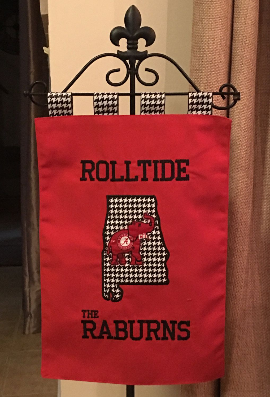 Custom Alabama Rolltide Tailgate / Garden Flag By SewSouthLane On Etsy