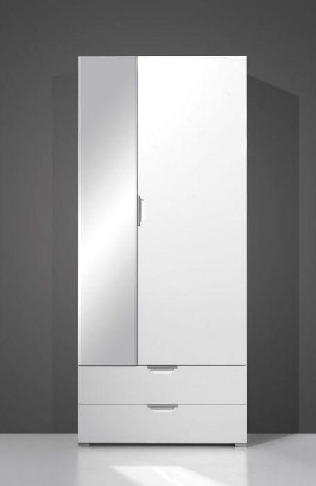 gino kleiderschrank wei 85x200x35 cm diele flur pin pinterest diele flure und. Black Bedroom Furniture Sets. Home Design Ideas