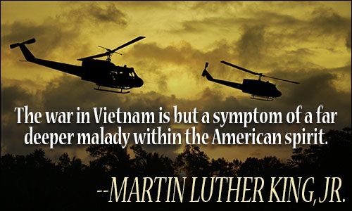 Quotes About Vietnam War The War In Vietnam Is But A Symptom Of A Far Deeper Malady Within .