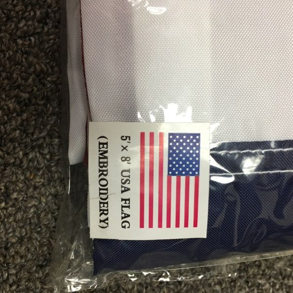 For Sale: 5x8 Feet US Flag for $20