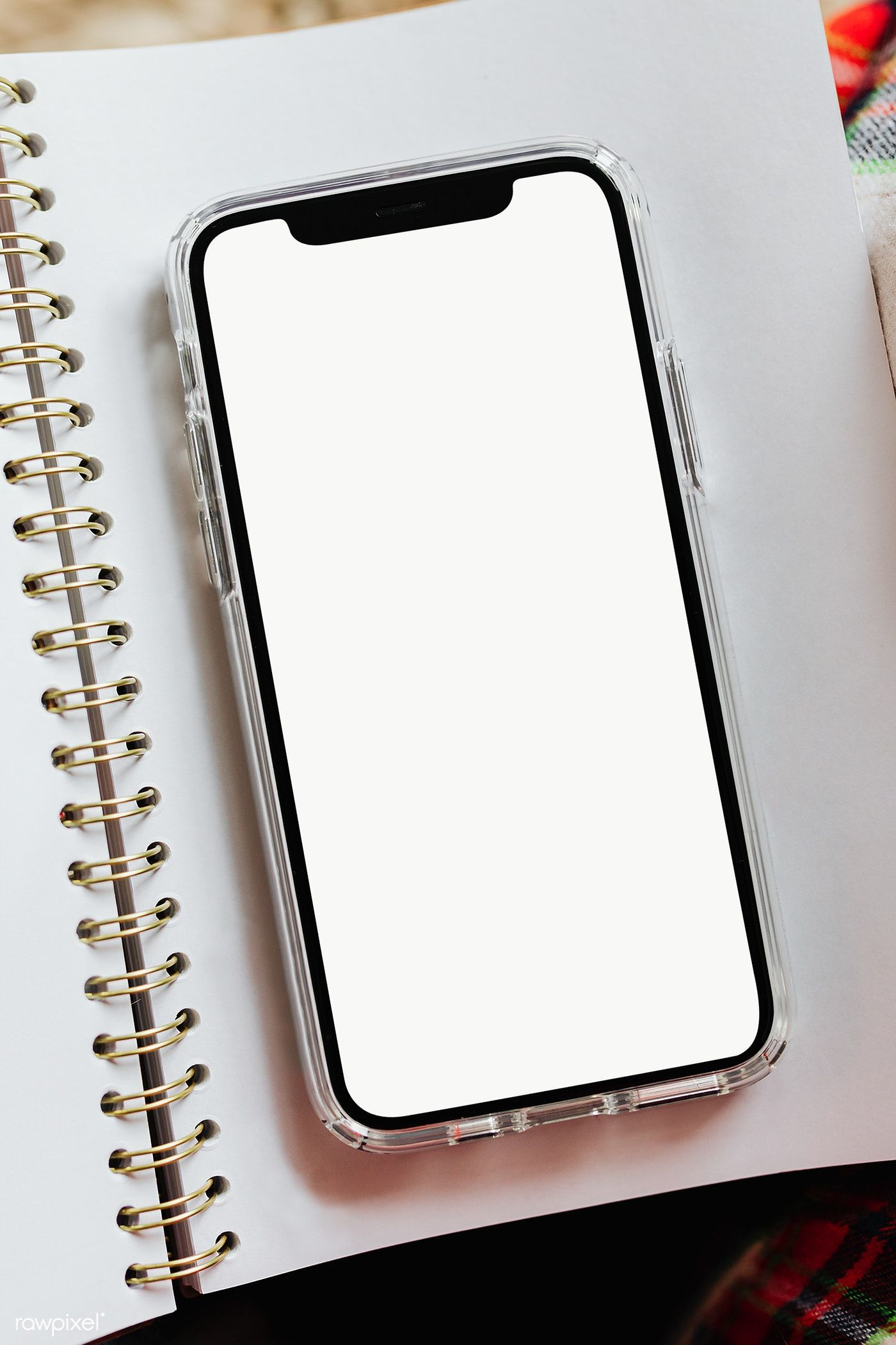 Download free png of Blank smartphone screen transparent png 2227334