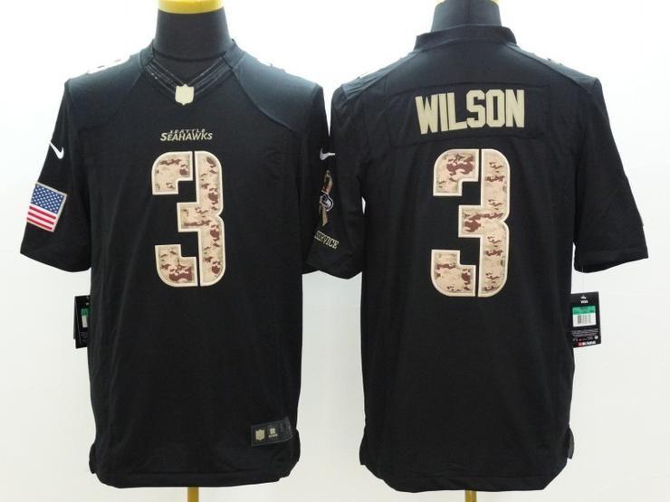 half off 7e0c5 55715 Men 03 Russell Wilson Jersey Football Seattle Seahawks ...