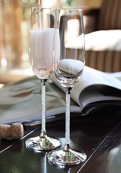 Swarovski Wedding Glasses Wedding Champagne Flutes Wedding Champagne Glasses Wedding Glasses