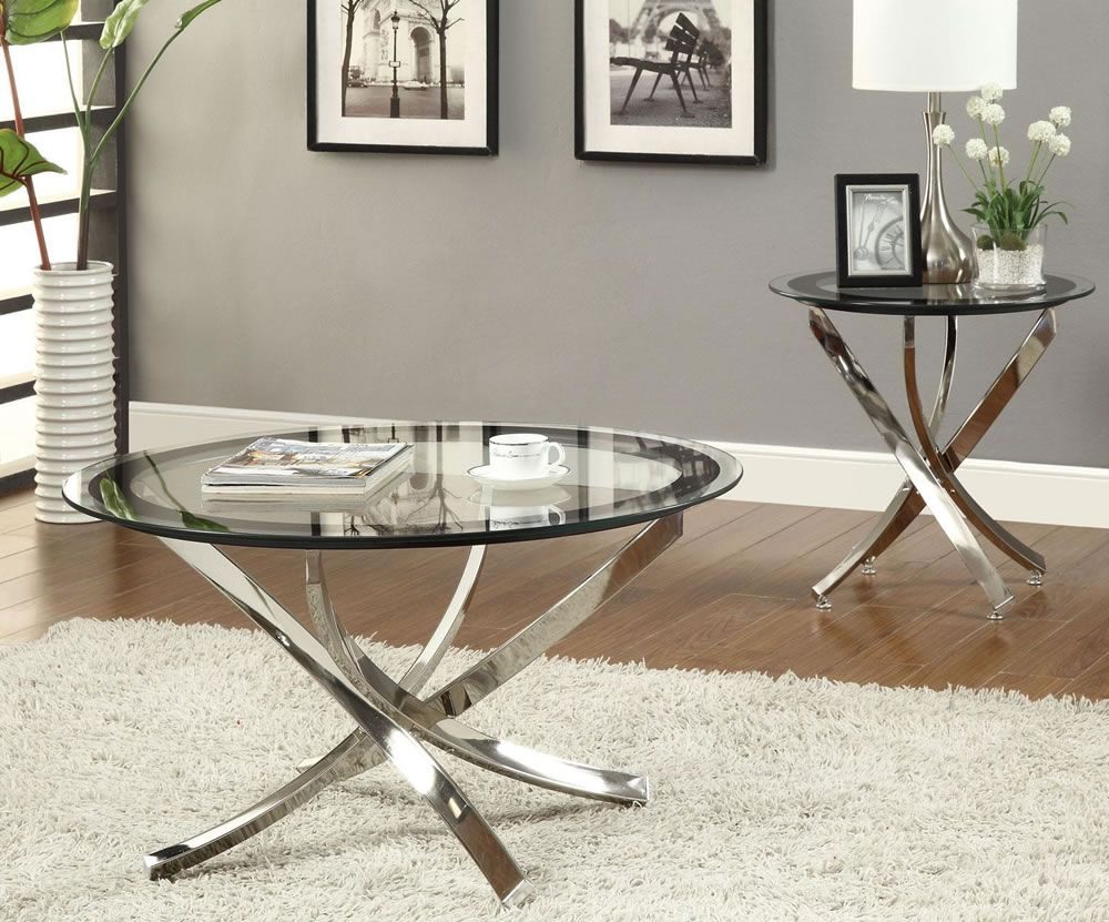 30 Glass Coffee Tables That Bring Transparency To Your Living Room Coffee Table End Table Set Contemporary Coffee Table Round Glass Coffee Table