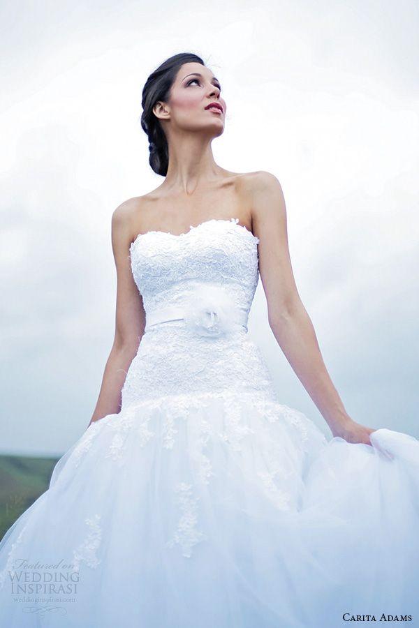 Adorn By Carita Adams 2017 Bridal Collection Wedding Inspirasi