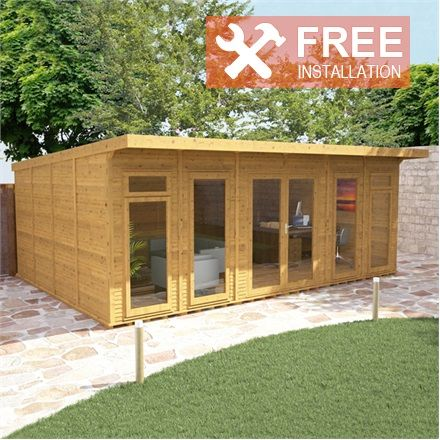 6m x 4m Waltons Insulated Garden Room - FREE Installation ...