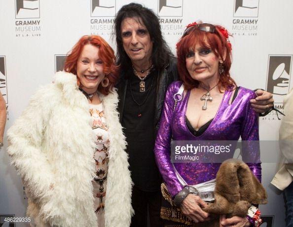 Paul Reubens And Pamela Des Barres During Leslie Gardner S Smashing Pamela Des Barres Grammy Museum Grammy