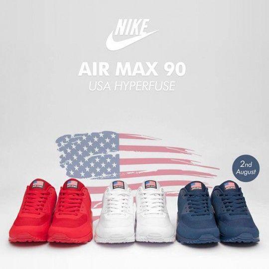 air max 90 rouge usa