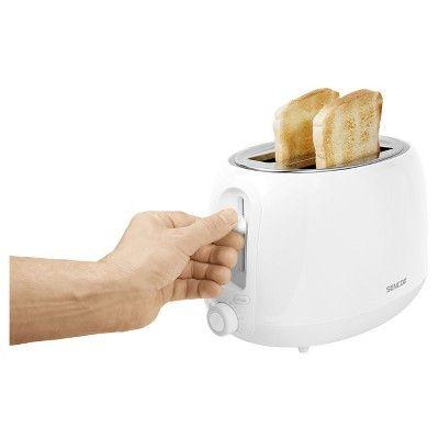 Sencor 2 Slice Toaster - Pastel White