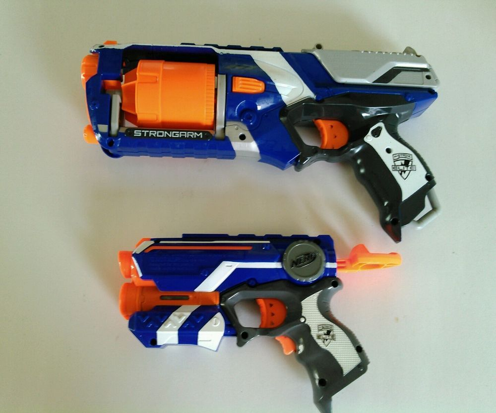 Lot of 2 Nerf Guns #NERF
