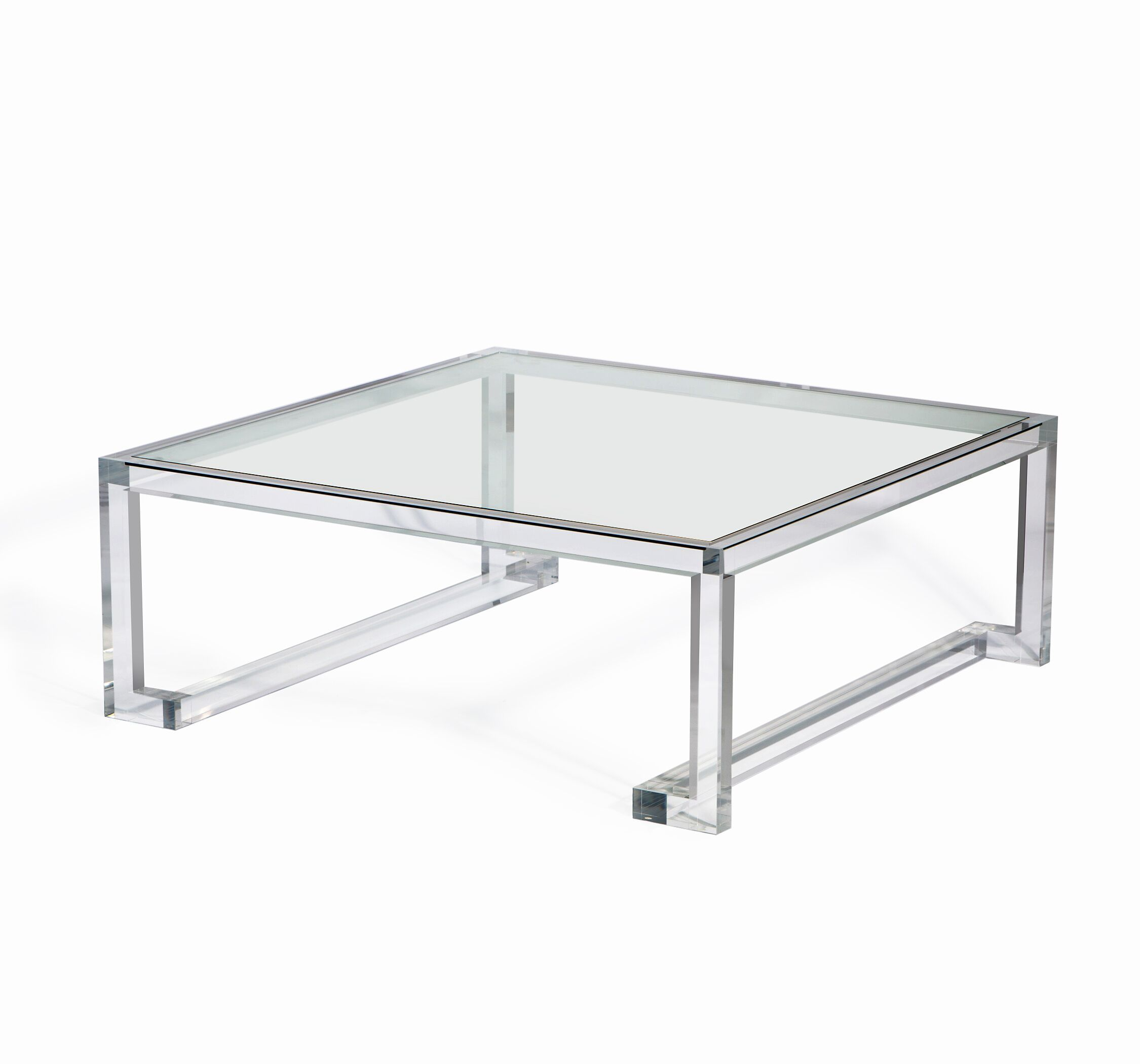 Ava Square Cocktail In Large Cocktail Tables Table Glass Material