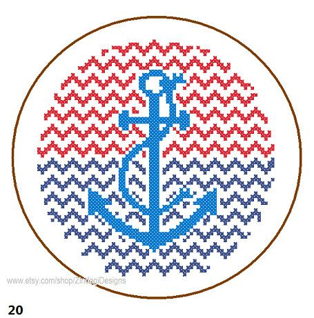 Hey, I found this really awesome Etsy listing at https://www.etsy.com/listing/173613090/instant-download-anchor-cross-stitch