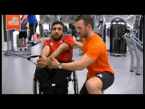 Abs Exercises For Disabled Or Wheelchair Users Youtube Wheelchair Exercises Abs Workout Wheelchair