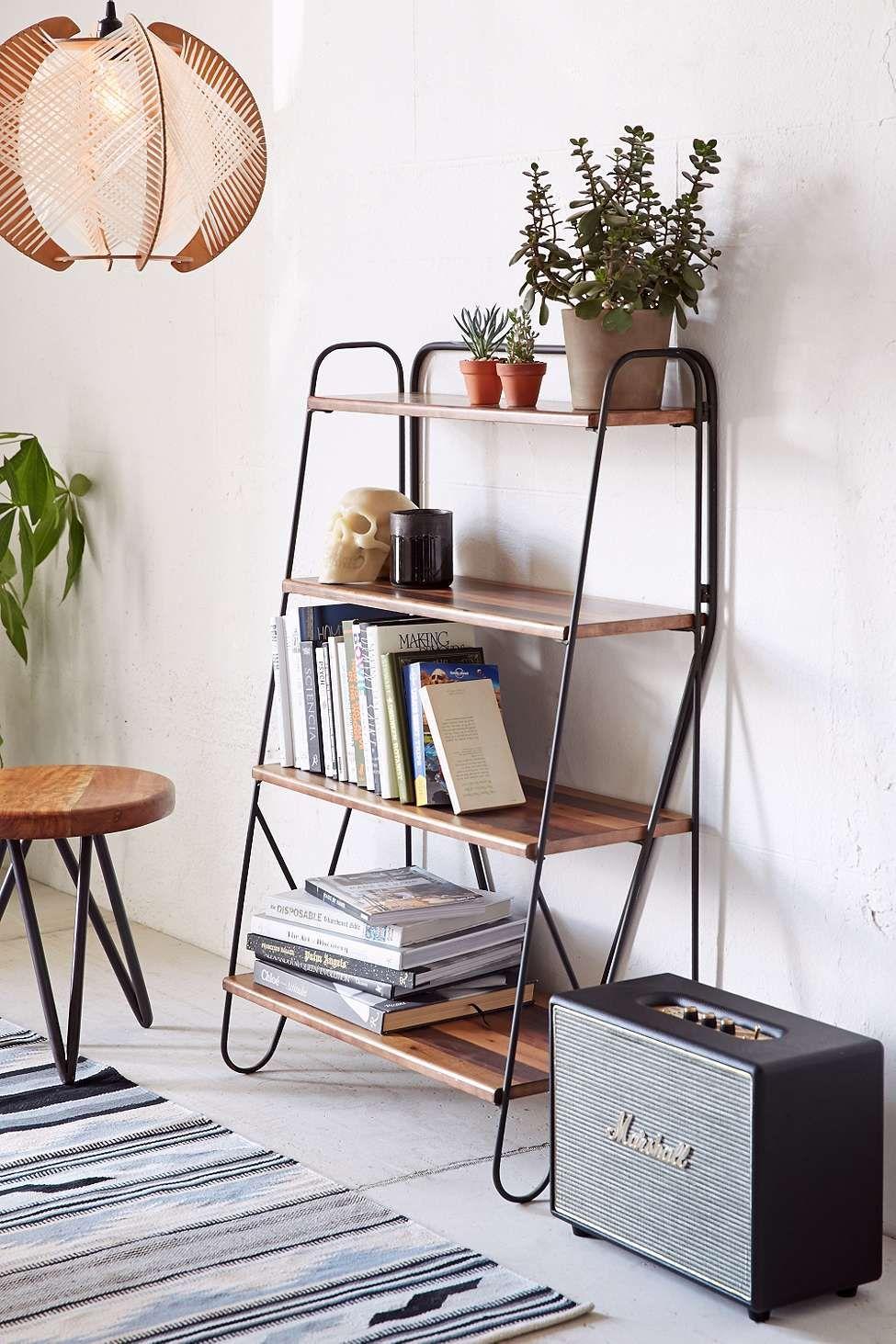 Max wood bookshelf lounge shelving pinterest wood bookshelves