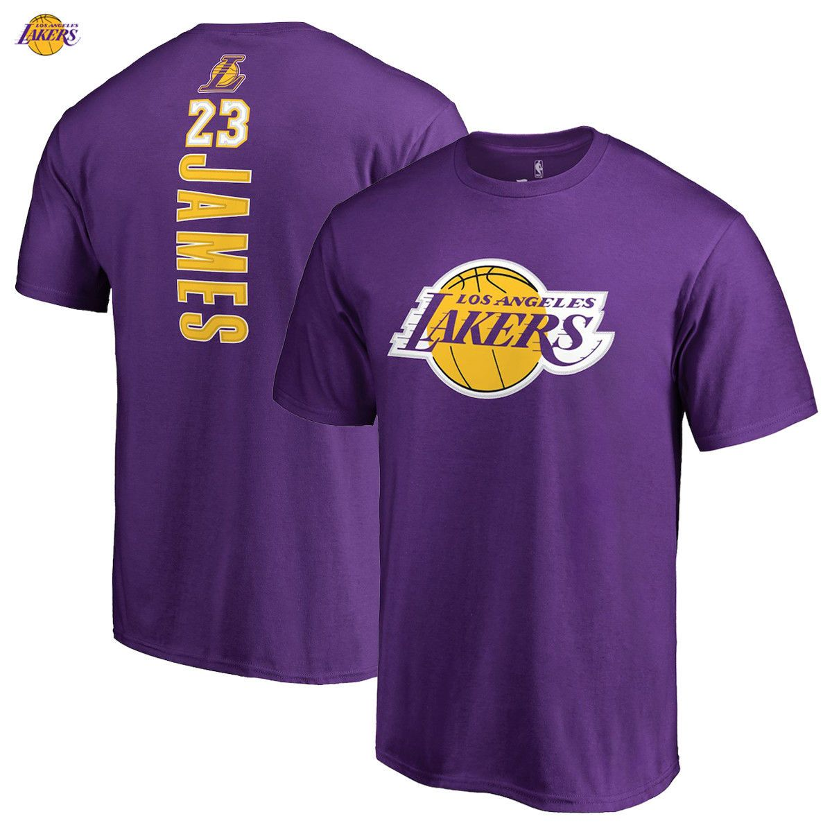 online store 23c8d 94ce5 LeBron James Los Angeles Lakers Fanatics Branded Round About Name   Number  Long Sleeve T-Shirt – Black   Products   Los Angeles Lakers, Lebron James,  ...
