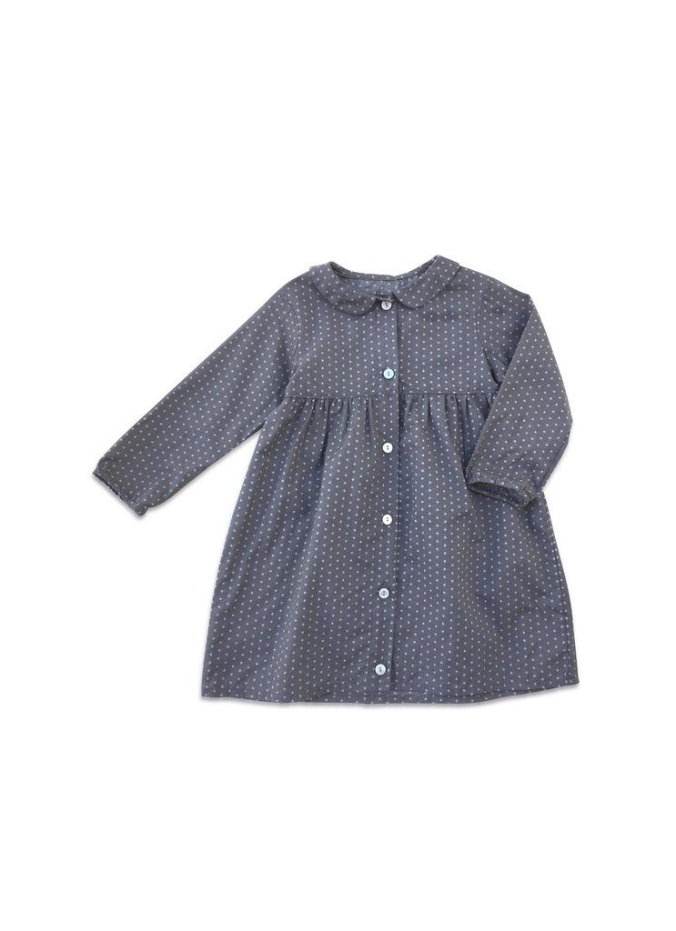 cb0a878433 Mabo Kids elsie dress in plum star