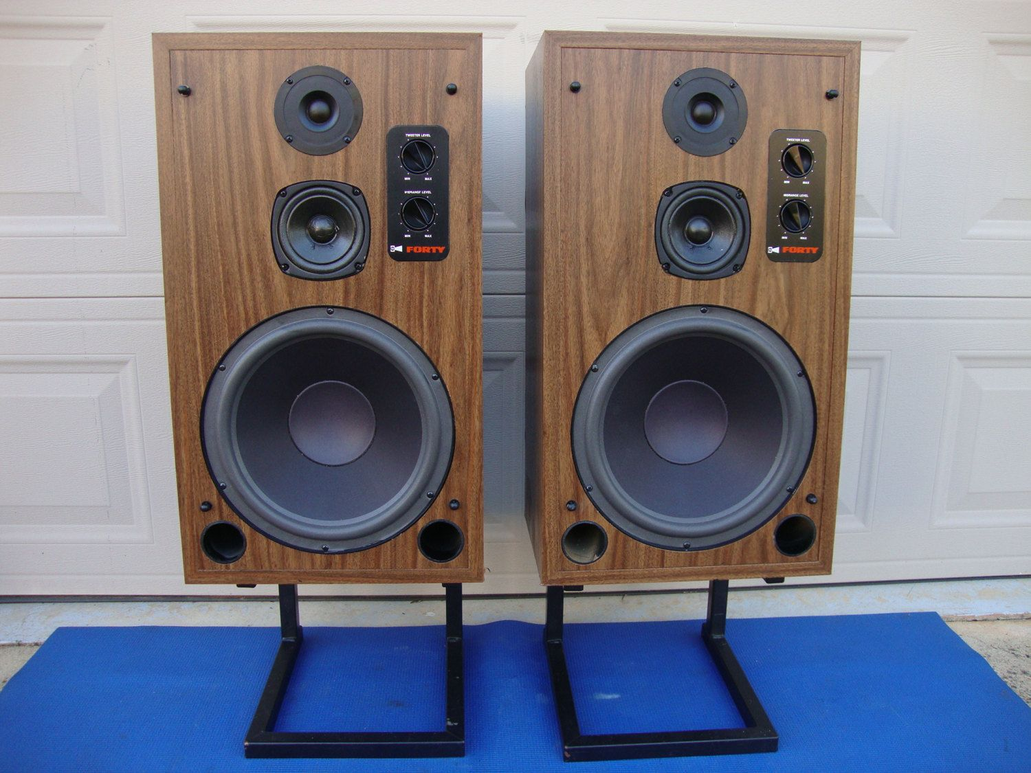 Legendary Roger Sound Lab (RSL) Forty Floor Speakers w/ Vifa Drivers