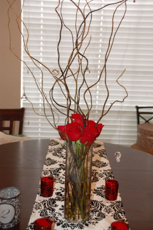 My Diy Centerpiece Wedding Branches Dsc 2359 Willow Branches And