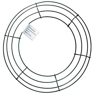 Amazon.com: Sumind 2 Pack Wire Wreath Frame Wire Wreath ...