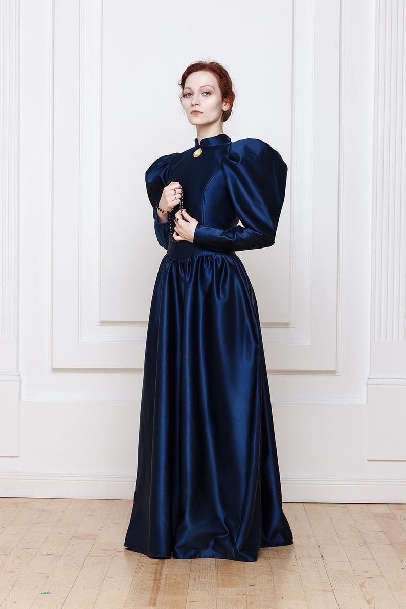 1890s Victorian Dress Etsy Historical Dresses Victorian Dress Fashion [ 1191 x 794 Pixel ]