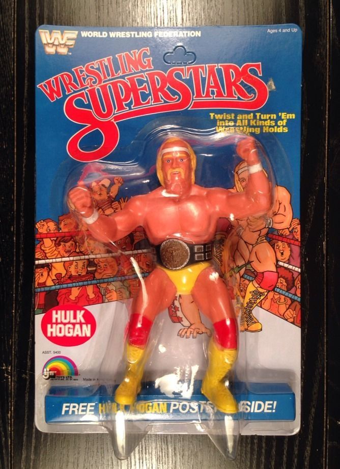 wwe hulk hogan toys ebay
