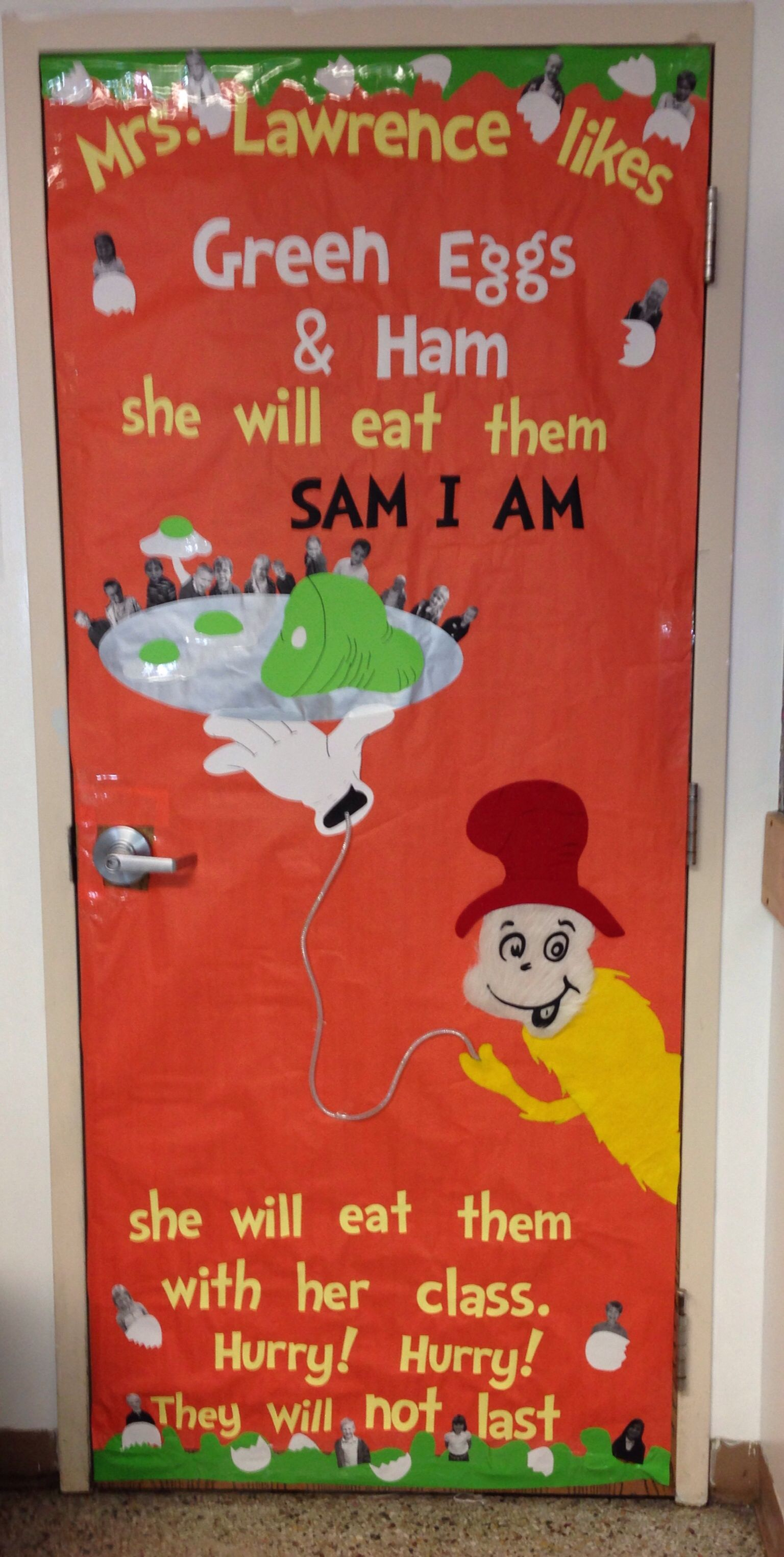 Green Eggs And Ham Door Decorating Will Keep Student Engagement