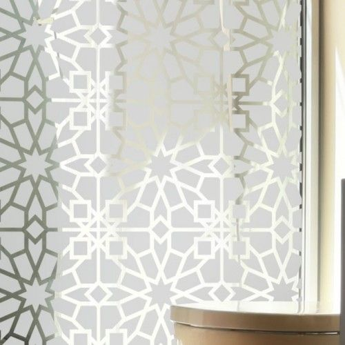 sticker vitres motif oriental d co pinterest carreaux de fen tre oriental et motifs. Black Bedroom Furniture Sets. Home Design Ideas