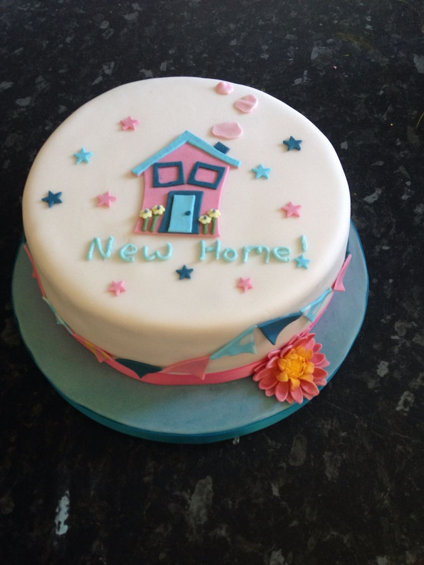 New Home Cake Housewarming Cake House Cake Cake