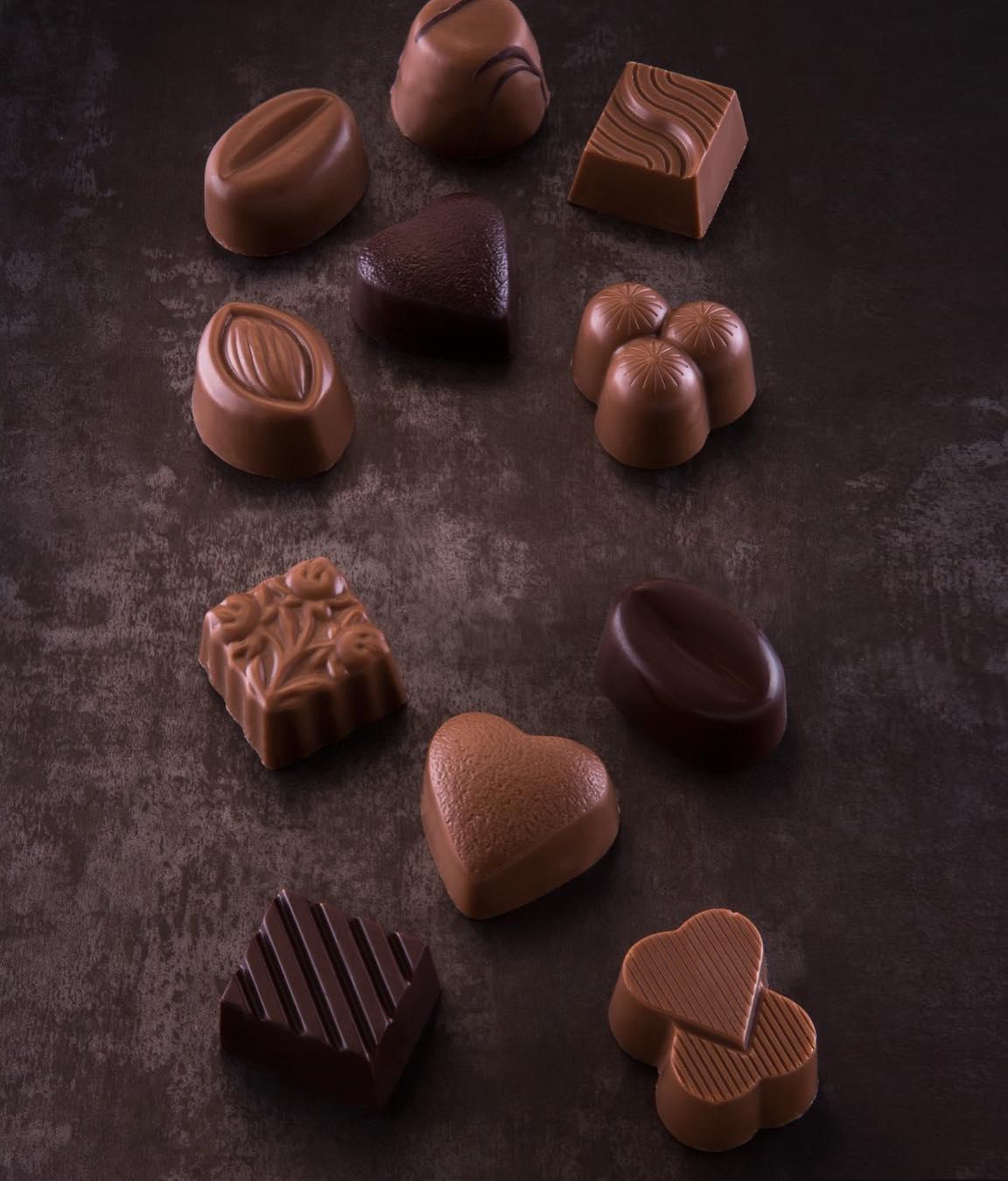 ❤️🍫❤️ #chocolate #çikolata #pralin #spesiyal #fındık #krema #karamel #badem #bal #kapuçino #ganaş #tahin