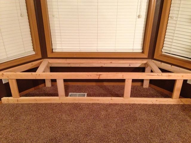 How To Make A Bay Window Bench Seat With Storage Diy Window Seat Bay Window Benches Storage Bench Seating