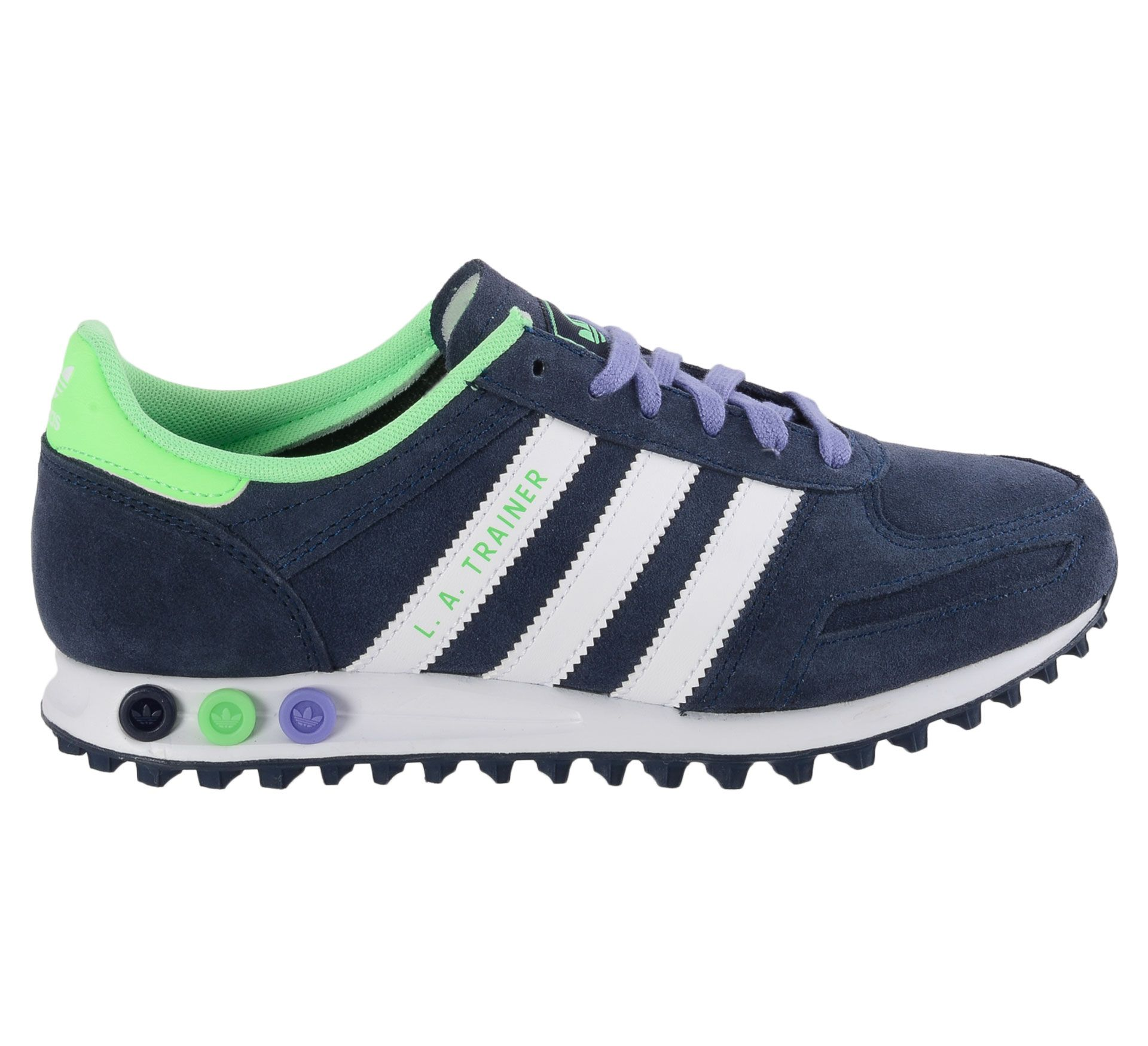 Fraaie Adidas L.A. Trainer Sneakers Dames (blauw - wit ...