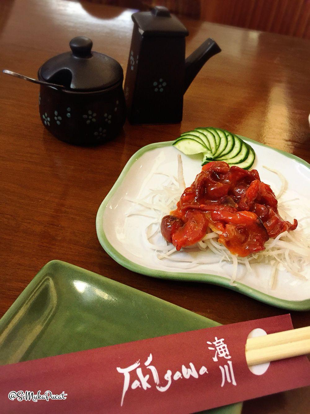 Baby Octopus Takigawa Makanan Dan Minuman Makanan Minuman