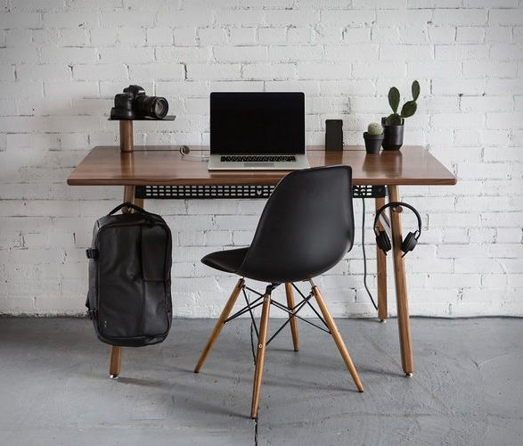 Artifox Have Introduced Desk 02, A New Version Of Their Beautiful And  Functional Work Desk. The Minimalist Desk Is Made From Quality Materials  (hardwood And ...