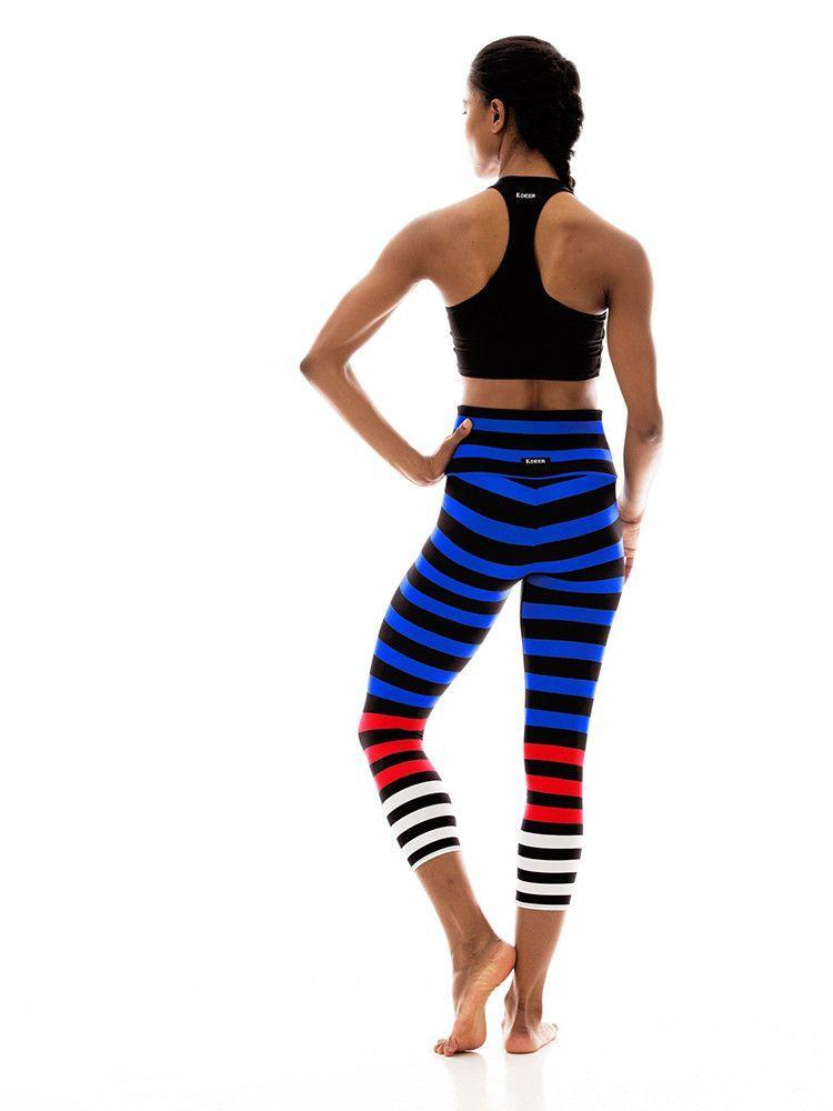 Capri In Susanne Stripe Sport Outfits Fitness Fashion Fashion