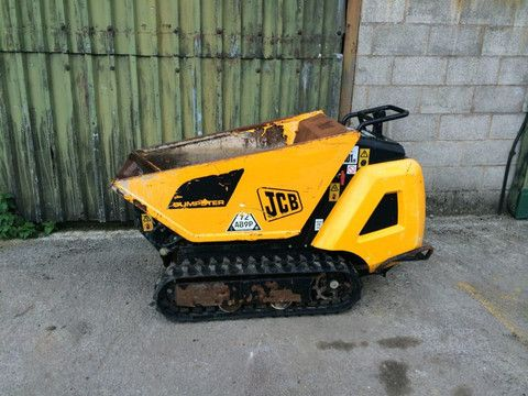 Click On The Picture To Download Jcb Htd5 Tracked Dumpster Service Repair Workshop Manual