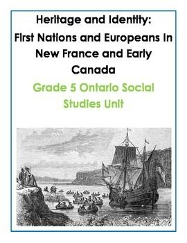 Complete Grade 5 Ontario Social Studies Inquiry-Based Unit
